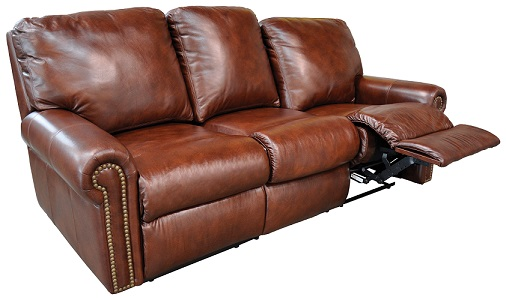 benchcraft u780 top grain leather black cherry top grain leather reclining sofa set power recliners available 170 was sofa sale price
