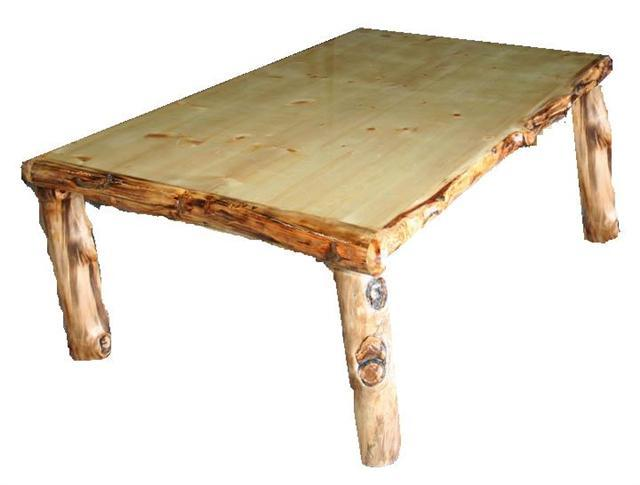 Aspen Log Collection. Rustic Aspen Dining Set
