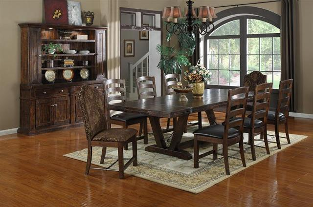 Bradley\'s Furniture Etc. - Utah Rustic Dining