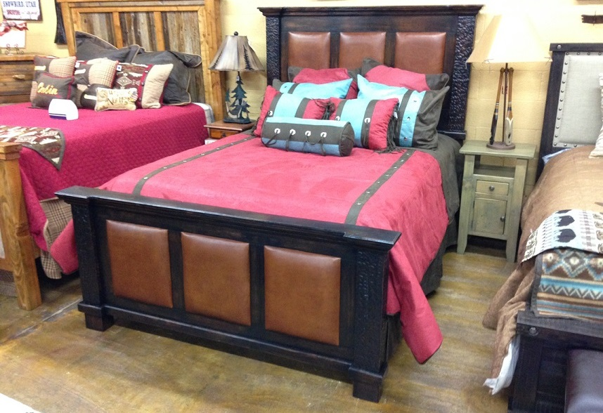 Log and Barnwood Youth Bedroom