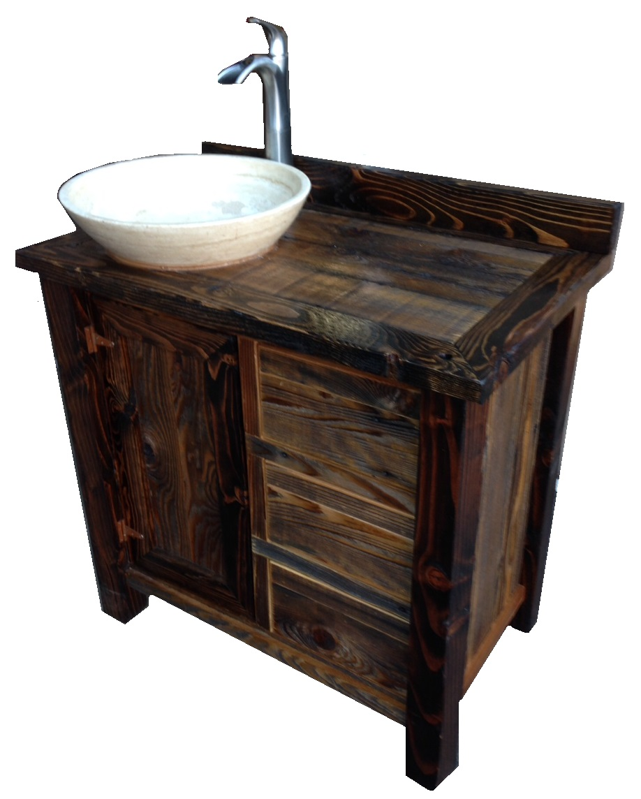 Rustic Bathroom Vanities Images Elegant Black Rustic