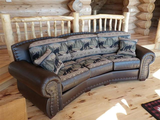 Bradleys Furniture Etc Rustic Leather Couch Collections