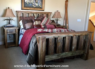Good Log U0026 Barnwood Beds