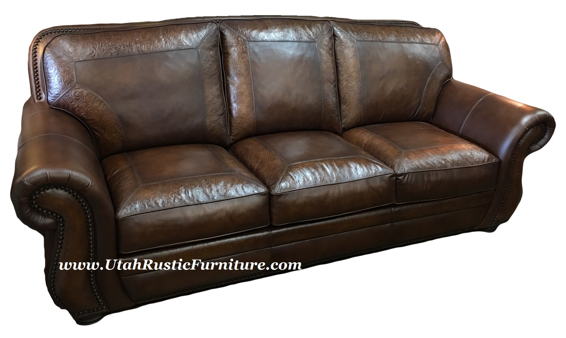 Bradley s Furniture Etc Artistic Leather Premium Rustic Sofas