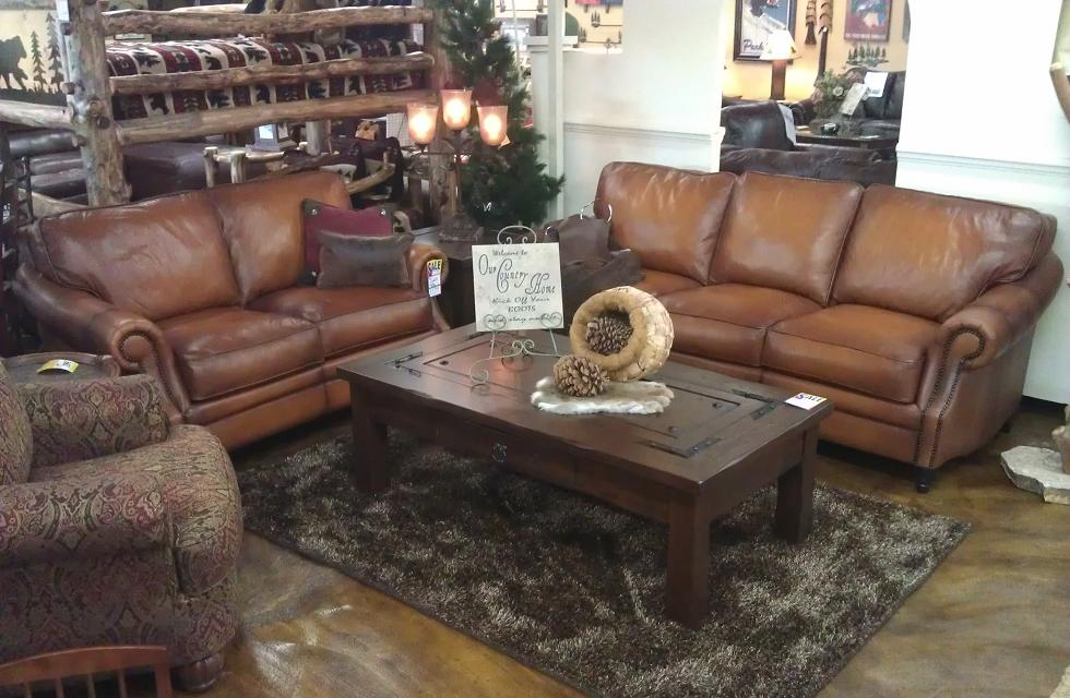 Artistic Leather Premium Rustic Sofas