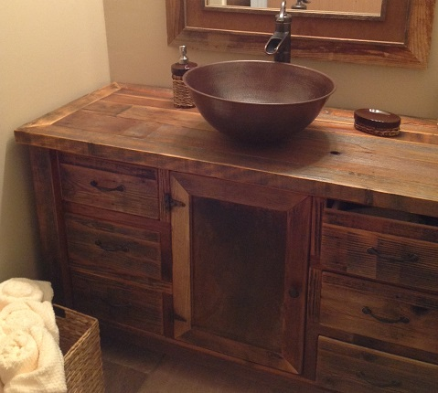 build your own bathroom vanity cabinet diy barn door hanger build your own rustic furniture 12611