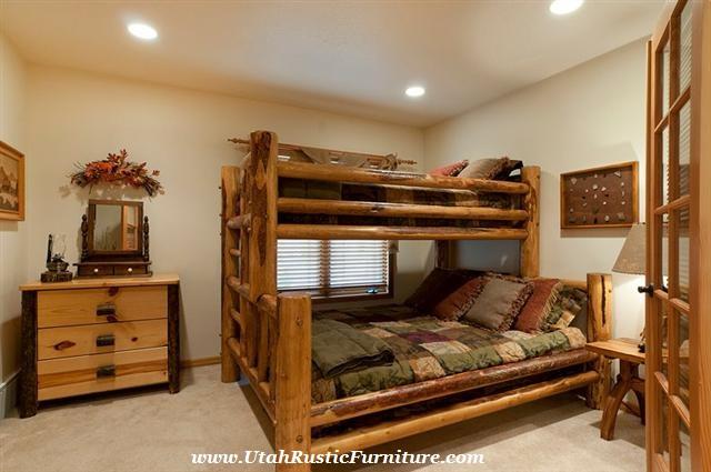 View Rustic Bunk Beds Pics